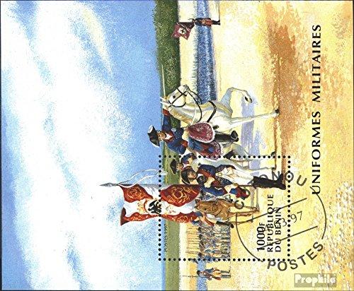 Prophila Collection Benin Block24 (kompl.Ausg.) 1997 Preußische Uniformen (Briefmarken für Sammler) Militär