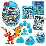 ZURU SMASHERS Dino Ice Age-Huevo Sorpresa, Color Gigante, Giant Egg (7455B-S001)