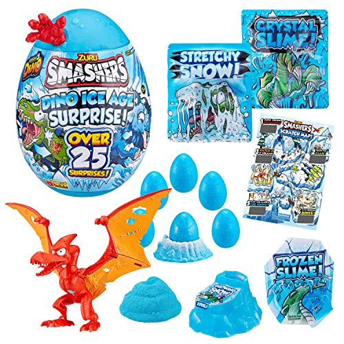 Smashers Dino Ice Age Surprise Egg (Over 25 Surprises)