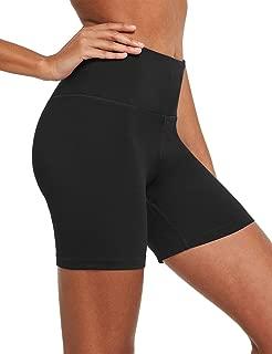 BALEAF Womens 5 Seamless High Waisted Yoga Workout Shorts w Hidden Pocket Tummy Control