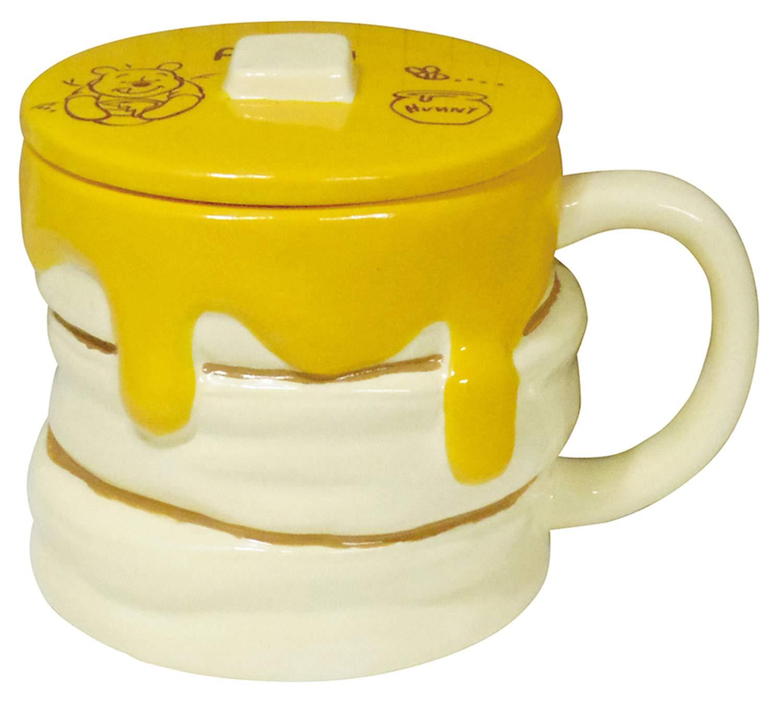 ディズニー 「 くまのプーさん 」 ハニーホットケーキ型 マグカップ 330ml  SAN2948