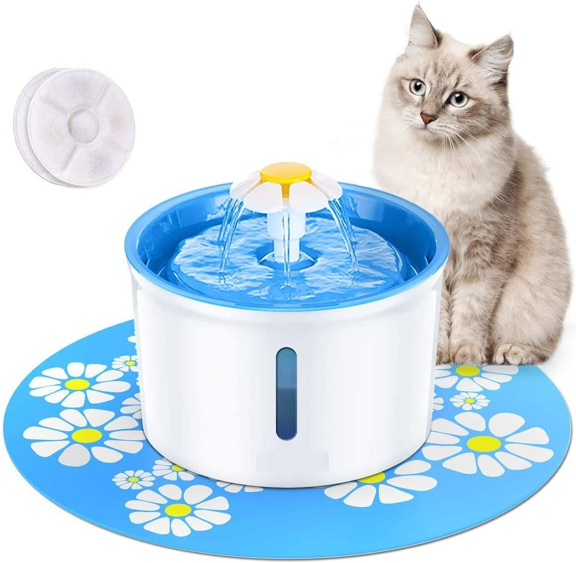 BTMETER Cat Low price Water Fountain -Automatic Electrica Gallon Max 68% OFF Large 0.8