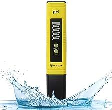 KETOTEK Digital PH Meter, PH Meter with ATC, Water PH Test Meter with 0.00-16.00ph Measure Range for Drinking Water, Hydroponics, Aquariums, Swimming Pools. High Accuracy 0.01 PH Pen Tester
