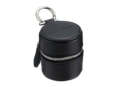 Salvatore Ferragamo Box Charm (Black) Wallet