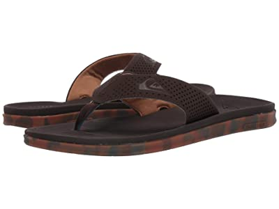 Quiksilver Haleiwa Plus (Brown/Brown/Brown) Men