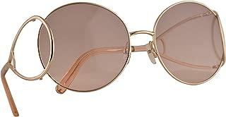 CE124S Sunglasses Gold Peach w/Purple Lens 60mm 724 CE 124S