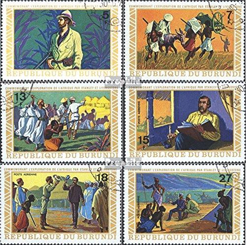 Prophila Collection Burundi 911A-916A (kompl.Ausg.) 1973 Erforschung Afrikas (Briefmarken für Sammler)