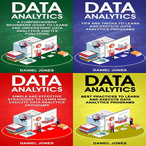 Data Analytics: 4 Books in 1 - Bible of 4 Manuscipts  audiobook cover art