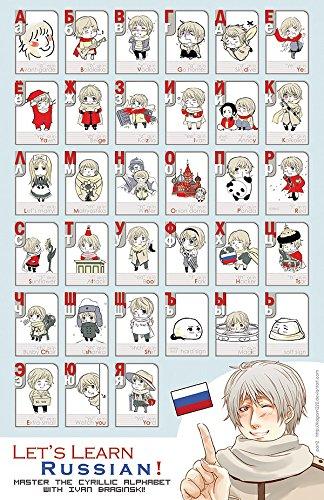 Der Museum Steckdose Diagramme von–Russisches Alphabet C–A3Poster Druck