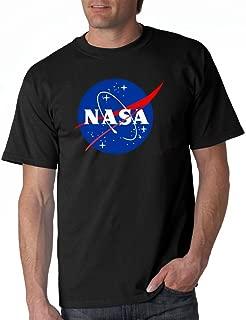 NASA Meatball Logo White, Black Gray T-Shirts