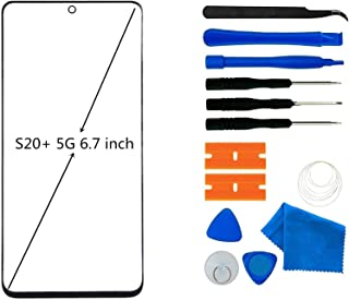 Original Galaxy S20+ 5G Screen Replacement, Front Outer Lens Glass Screen Replacement Repair Kit for Samsung Galaxy S20+ 5...