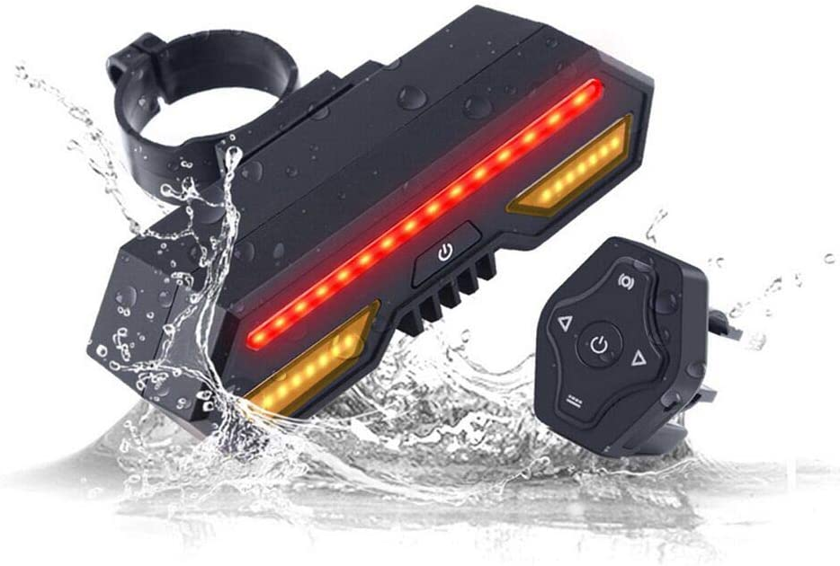 2021new shipping free shipping LEIWOOR USB Rechargeable Bike Taillight Free shipping anywhere in the nation Turn Lig Signal Bicycle