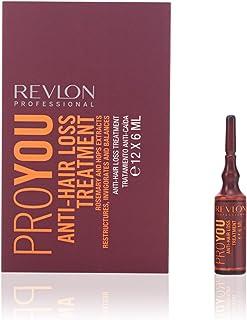 Revlon Profesional ProYou Tratamiento Anticaida del Cabello (12 ampollas de 6 mL)