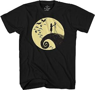 Disney Nightmare Before Christmas Jack Sally Moon T-Shirt