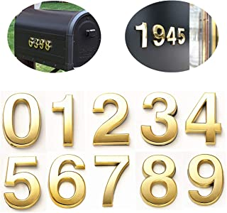 Best gold mailbox numbers Reviews