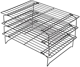 DGJ 3 Pcs Stainless Steel Wire Rack for Cooking And Baking, 13inch X10inch X 7inch Baking Cooling Rack for Biscuit Cake Bread Kitchen Tools dgj521