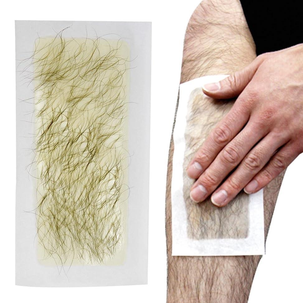 メイド軸最も脱毛シート 100回分 ブラジリアンワックス 処理 お手軽美人 脱毛纸 脱毛テープ