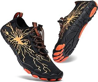 Sponsored Ad - XIDISO Mens Womens Water Shoes Lightweight Quick DryBarefoot for Swim Diving Surf Aqua Socks Sports Pool B...