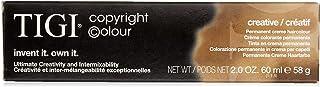 Tigi Color Creative Creme-Emulsion for Hair, 2 Ounce # 9/0 Very Light Natural Blonde