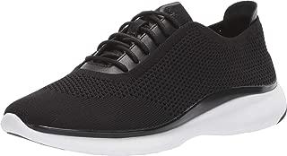 3.Zerogrand Stitchlite Oxford Black Knit/Black Leather/Black/Optic White 10.5