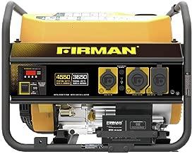 Firman P03601 4550/3650 Watt Recoil Start Gas Portable Generator cETL Certified, Black (Renewed)