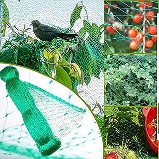 Bird Netting for Garden Protect Vegetable Plants and Fruit Trees,Plastic Trellis Netting Plant Fencing for Against Birds, ...