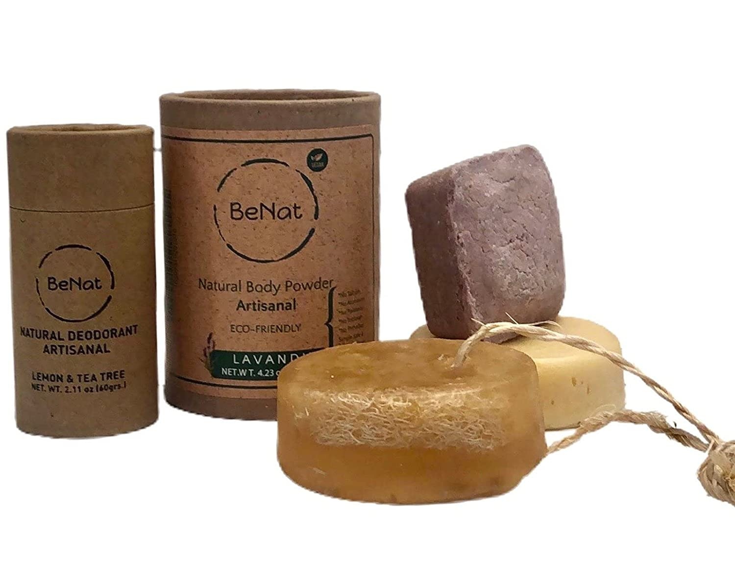 BeNat. All-Natural Personal Branded goods All stores are sold Care Bundle. 5-Pack. 1 Zero-Waste