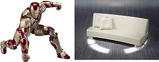 S.h. Figuarts Iron Man Mark 42 & Bonus Gift Tony's Sofa Set Limited Edition by Bandai