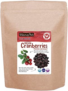 Wilderness Poets Oregon Cranberries (Sweetened with Apples) - Bulk Dried Cranberries, 2 lb (32 oz)