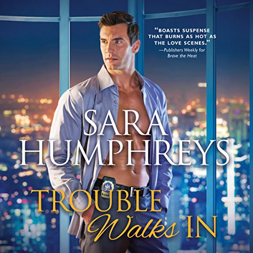 Trouble Walks In audiobook cover art