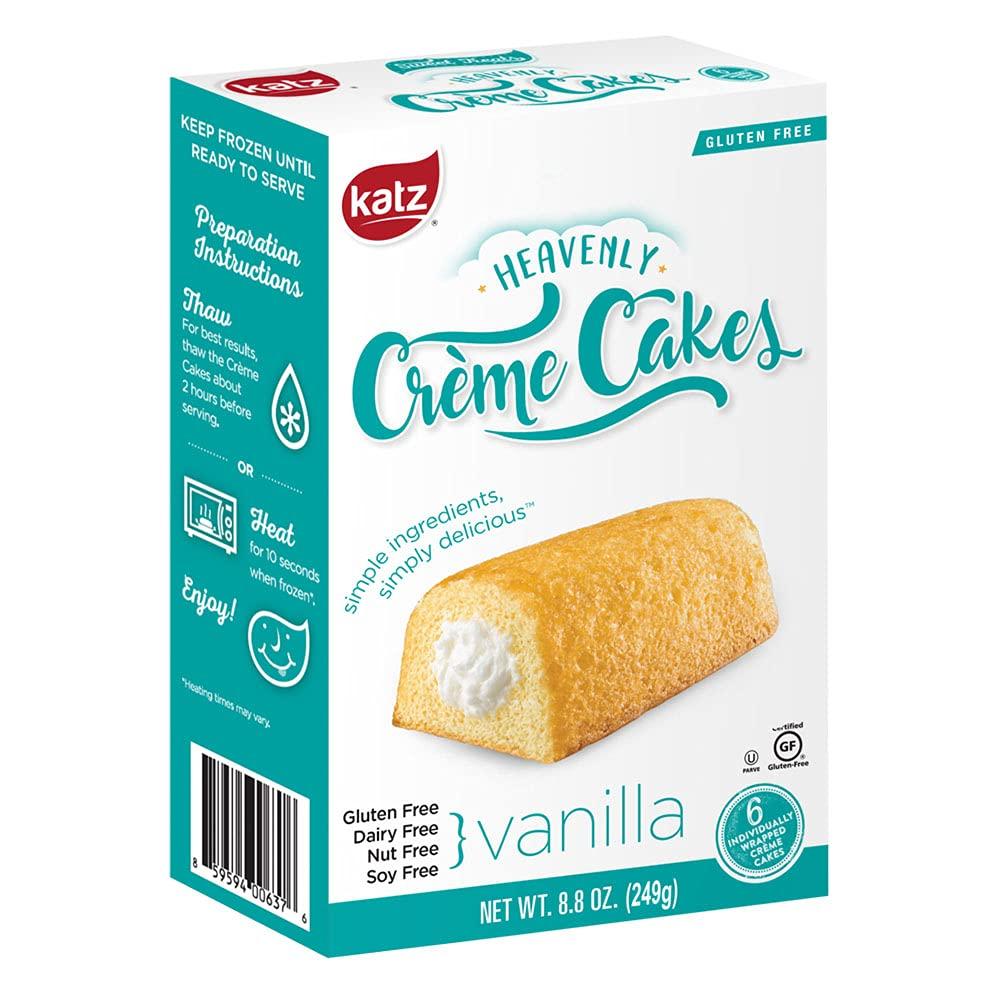 Katz Gluten Free Heavenly Vanilla Creme -- Max 54% OFF 6 8.8 per Cash special price Cake Ounce