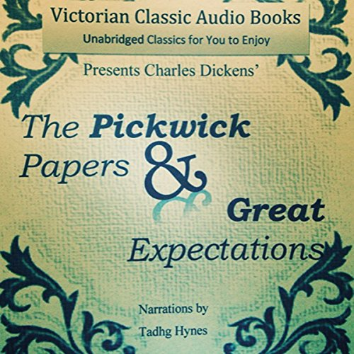 The Pickwick Papers & Great Expectations cover art