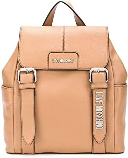 Luxury Fashion | Love Moschino Womens JC4274PP08KM0201 Beige Backpack | Fall Winter 19