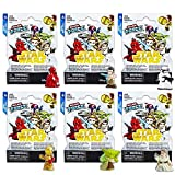 Micro Force Star Wars Figures Blind Bags Party Favors Set ~ Bundle Pack of 6 Star Wars Mystery Bags, Series 6 (Star Wars Party Supplies)