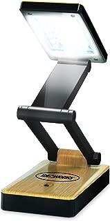 IdeaWorks JB6921BLKWD Light Desk lamp, Black Woodgrain