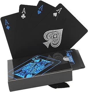 ZooooM ブラック トランプ 黒 色 カッコイイ 遊び 格好いい ポーカー 大人 カラー マジック おもしろ 面白 豪華 カード 大富豪 卓上 遊戯 手品 家族 友人 パーティー テーブル ゲーム インテリア 持ち運び コンパクト ZM-BKTORA