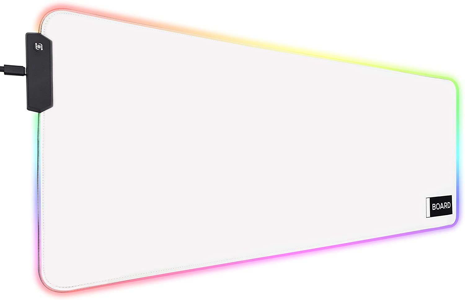 2021 autumn and winter new Board Extended White RGB Gaming San Diego Mall Mouse Mat 10 XXL: Lighting Pad