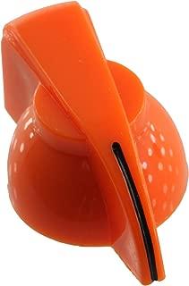 Chicken Head Pointer Knob Push-On Style, Orange