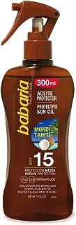 Babaria Monoi Tahiti Pistola Aceite Protector Solar SPF15-300 ml