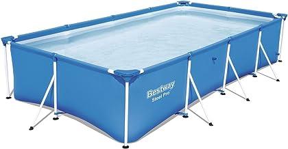 Bestway 56405 - Piscina Desmontable Tubular Infantil Family Splash Frame Pool 400x211x81 cm
