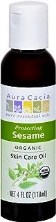 Sesame Organic Skin Oil 4 OZ