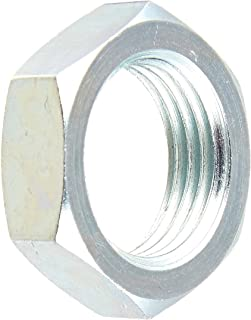 1.125 Hex 0.360 Width 7//8-14 Thread 5//8 Tube OD Brennan Industries 0306-10 Steel Bulkhead Lock Nut