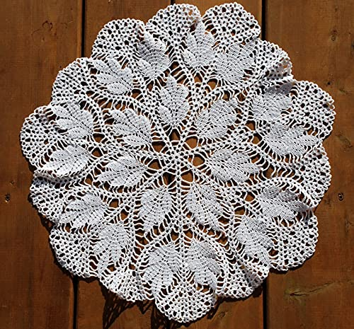 Crochet Cheap super special Direct stock discount price White Doily