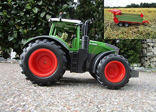 RC Auto kaufen Traktor Bild: RC Traktor Fendt 1050 Vario mit Anhänger-Stalldungstreuer 1:16