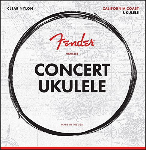 Fender California Coast - Juego de cuerdas para ukelele