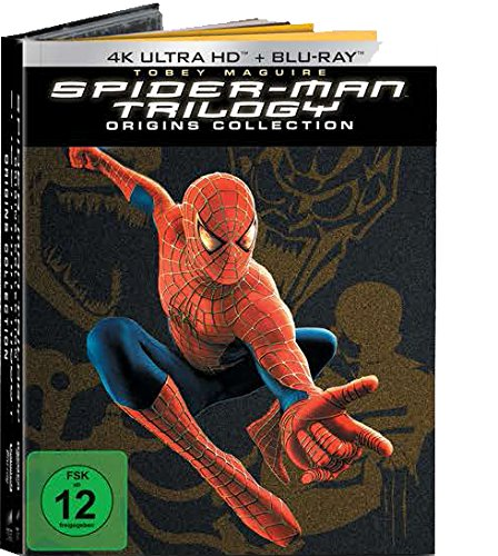 Spider-Man 1-3 (Spider-Man Origins Collection 7 Discs Version) (exklusiv bei Amazon.de) [Blu-ray]