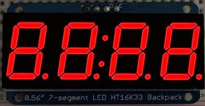 Best 4 digit 7 segment display i2c Reviews