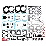 SCITOO Compatible fit for Cylinder Head Gasket Kits 04-09 for Subaru Impreza Forester Legacy for Saab 2.5L SOHC Engine Cylinder Head Gaskets Automotive Replacement Gasket Set