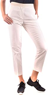 Moncler Luxury Fashion Womens MCBI35810 White Pants | Season Outlet