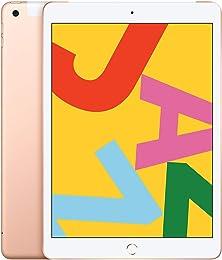 Nouvel Apple iPad (10,2 Pouces, Wi-FI + Cellular,
